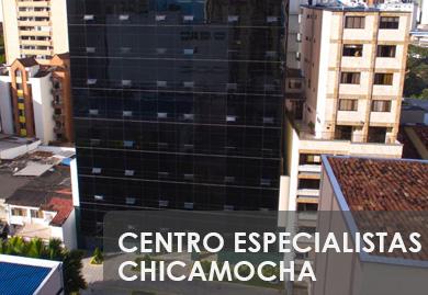 Sede en Centro Especialistas Chicamocha